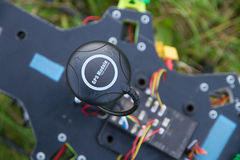 GPS module on drone Royalty Free Stock Photo
