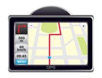 gps-navigatör Arkivbild