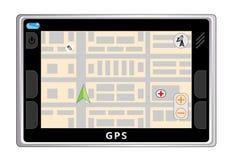 gps-navigatör Fotografering för Bildbyråer