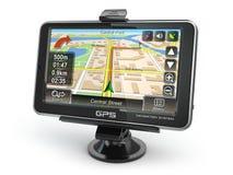 GPS-navigatiesysteem Stock Afbeelding