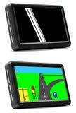 GPS navigatiesysteem Royalty-vrije Stock Afbeeldingen
