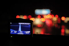 GPS navigation royalty free stock photo