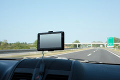 Gps navigation Stock Photography
