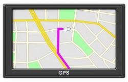 GPS Navigation Royalty Free Stock Photos