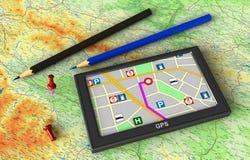 GPS Navigation Royalty Free Stock Photography