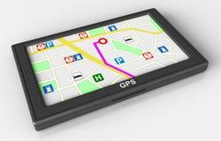 GPS Navigation Stock Photos