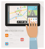 Gps navigation Royalty Free Stock Photos