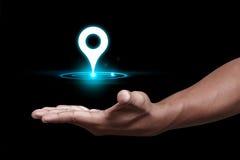 GPS and Navigation pin Stock Photography