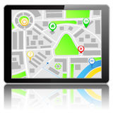 GPS Navigation System Stock Photos