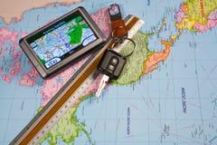 GPS Navigation system Stock Image
