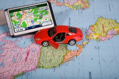 GPS Navigation system Royalty Free Stock Photography