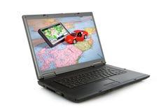 GPS Navigation system Stock Photos