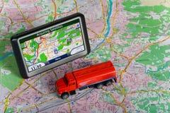 GPS Navigation system Stock Photography