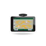 Gps Navigation System In Car. Stock Photo