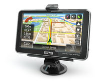 GPS navigation system. Stock Image