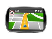 GPS navigation Stock Photo