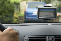 Gps, navigational system Royalty Free Stock Image