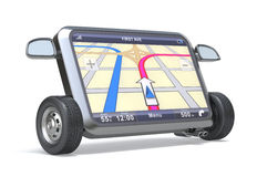 GPS Navigator Stock Afbeelding