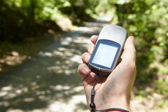 Gps navigator Royalty Free Stock Images