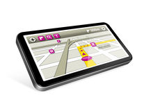 GPS navigator Stock Images