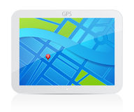GPS navigator Stock Photo
