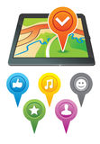 Gps navigator Royalty Free Stock Photo