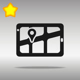 GPS Navigator location Stock Image