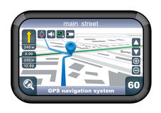 GPS navigator. Stock Photography