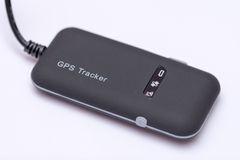 GPS och GPRS-modulbogserare för bil och cykel Arkivbild
