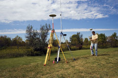 GPS onderzoek stock foto