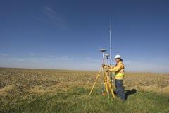 GPS onderzoek royalty-vrije stock afbeeldingen