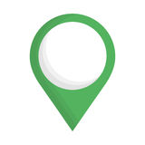 Gps pin icon image. Vector illustration design Stock Images