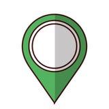 Gps pin icon image. Vector illustration design Stock Photo