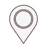 Gps pin icon image. Vector illustration design Royalty Free Stock Image