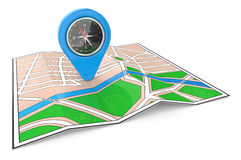 GPS Pointer. Stock Photography