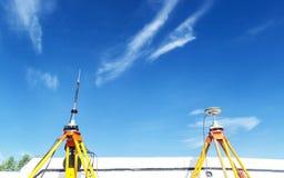 GPS przegląda, system nawigacji satelitarnej Fotografia Stock