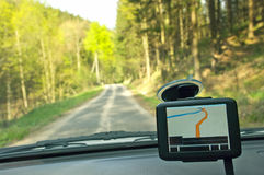 GPS receiver Royalty Free Stock Images