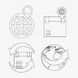 Gps service Stock Images