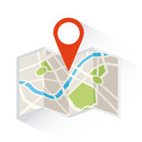 Gps signals Stock Images