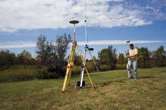 GPS survey Stock Photo