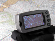 GPS System Royalty Free Stock Photography