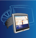 GPS System stock photo