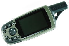 GPS Unit stock photos