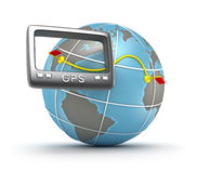 GPS world tracker Royalty Free Stock Images