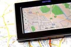 GPS y correspondencia Fotos de archivo