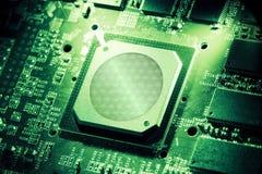GPU vert Image stock