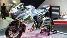 GPX demon 150GR przy 34th Tajlandia zawody międzynarodowi silnika expo 2017 Zdjęcie Stock