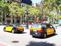 Grácia avenue Barcelona Catalunya stock photos