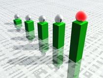 gráfico 3d Foto de Stock