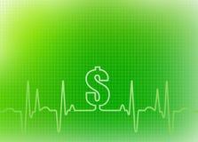 Gráfico abstracto del fondo de la atención sanitaria Ilustración del Vector